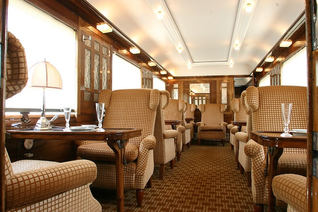Pullman Orient Express - dining car.