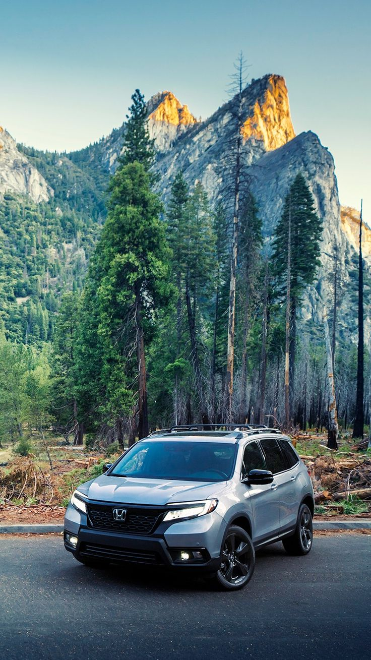 Scenic routes are the only option for the Honda Passport