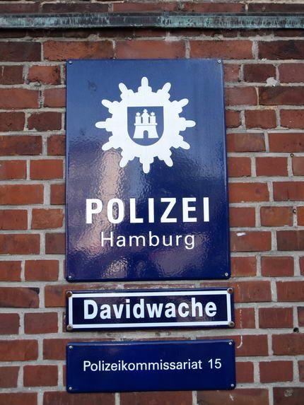 Polizei Hamburg Reeperbahn Davidwache