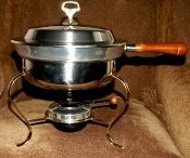 Kromex Holiday Covered Chafing Dish