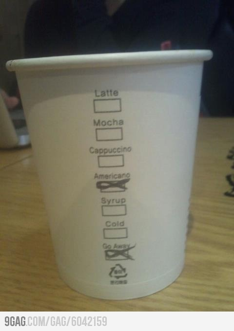 A friend is teaching abroad in South Korea. This is his coff