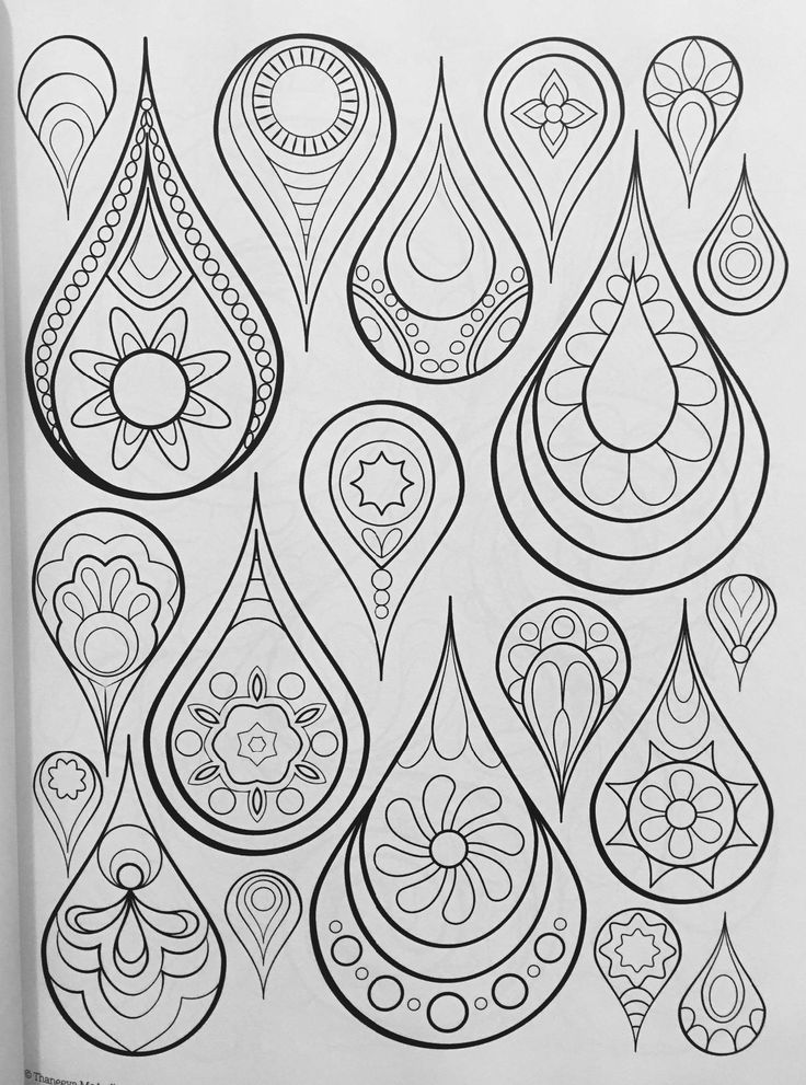 Groovy Abstract Coloring Pages : Best zentangles y más images on pinterest