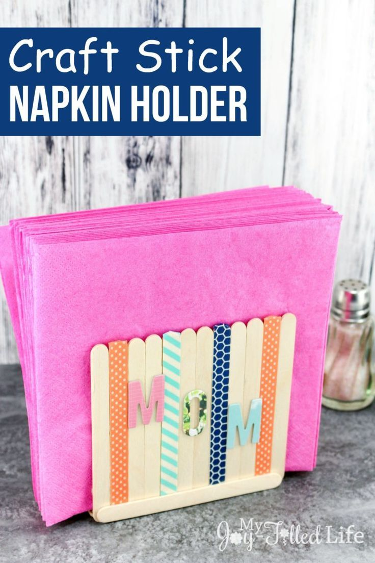 how to make napkins stick