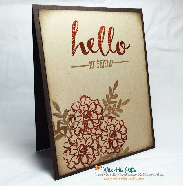 Stampin Up! Sale-A-Bration 2016 What I Love #stampinup #saleabration2016 #whatilove