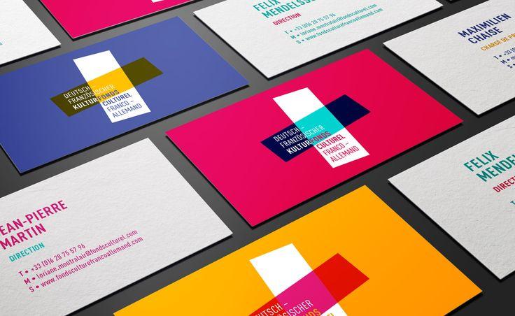 Fonds Culturel Franco-Allemand #branding by Grapheine