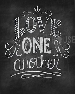 """simply-divine-creation:  simply-divine-creation:  John 13:34 """"A new command I give you: Love one another. As I have loved you so you must love one another. 