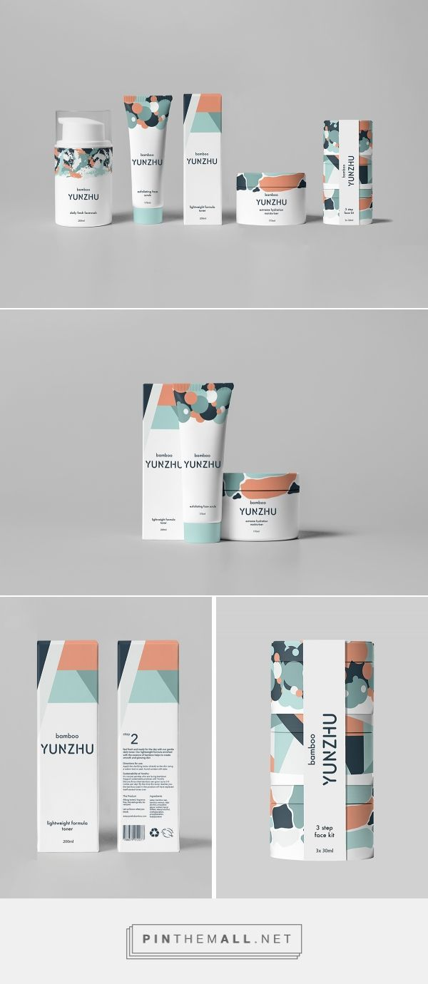 Packaging / Yunzhu cosmetics by Jasmine Clark, Niamh O'Sullivan