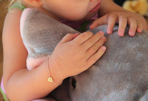 Kleinkinder-Armband Baby Armband Kind Armband Rose von MinimalVS