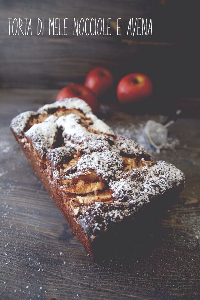 Apple and Hazelnut Oat Cake #applepie #recake2.0
