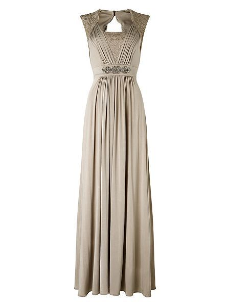 Anabella lace full length dress