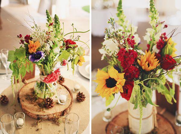 Sonnenblumen  Hochzeit Blumen  Wedding Wedding bouquets