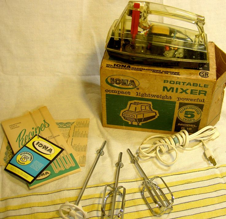 vintage midcentury electric mixer by Providencea on Etsy https://www.etsy.com/listing/266695221/vintage-midcentury-electric-mixer