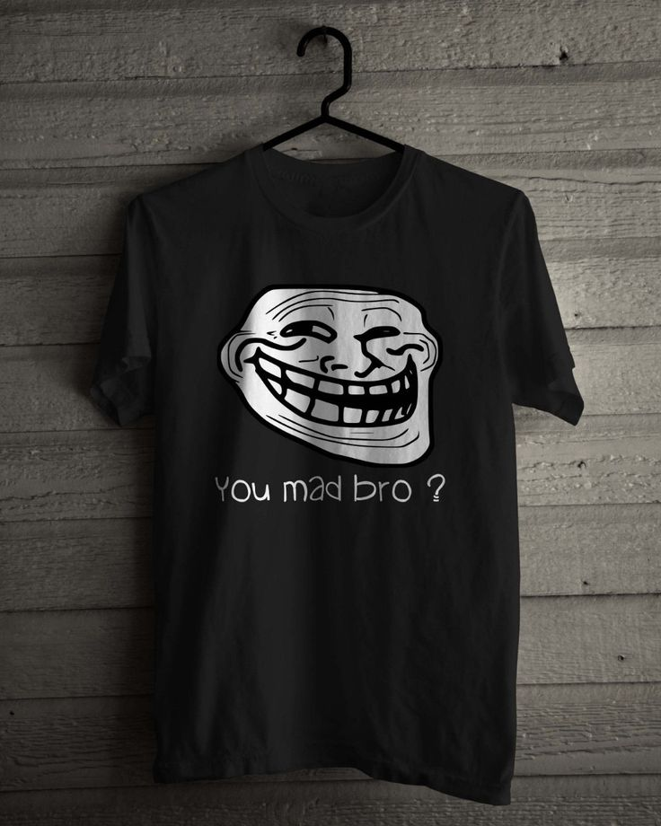 >> Click to Buy << Summer Style Gildan Men'S Internet Meme, Troll Face Rage Comic Character, Black And White O-Neck Short Sleeve Short T Shirts #Affiliate