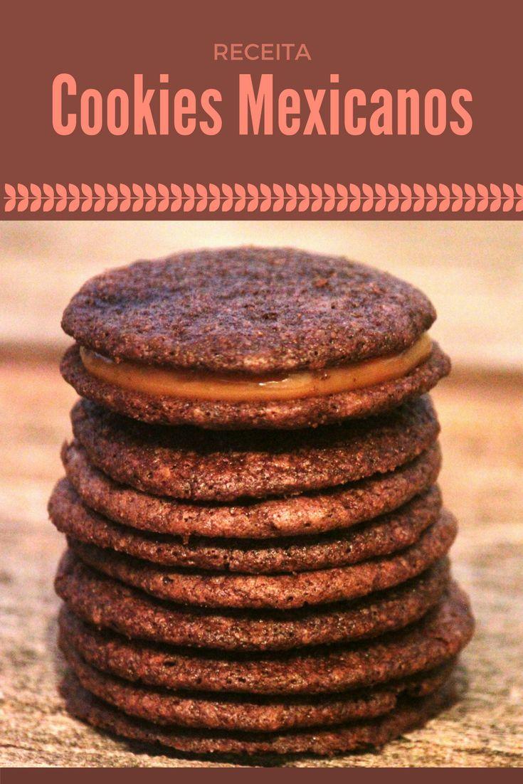 Cookies mexicanos    Biscoitos caseiros com sabor de cacau e canela e um toque super especial. Confira a receita e prepare seus cookies em casa.