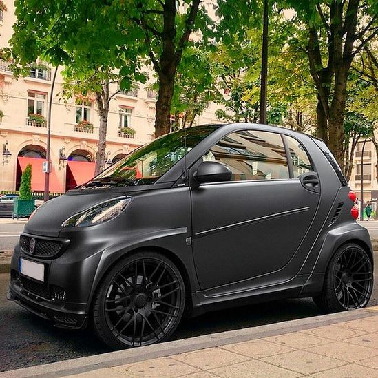 The smart fortwo went all out for this one. This BRABUS Ultimate120 means business. Photo credit: @toshikazu_ukai on Instagram