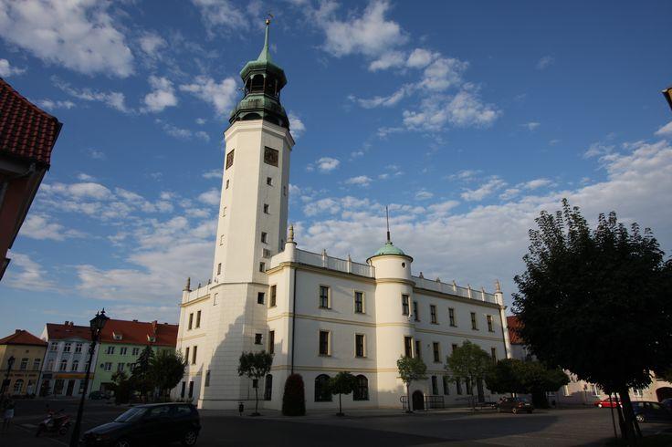 Ratusz w Sulechowie powstał na początku XIV wieku.  Początkowo był drewniany i niewielki. Spłonął w czasie pożaru miasta w 1557 roku. Na tym miejscu wybudowano murowany gmach w stylu renesansowym. Po raz drugi ratusz spłonął w roku 1633 roku. Gruntownej przebudowy ratusza dokonano w II połowie XIX wieku. Obecnie - siedziba burmistrza miasta, Rady Miejskiej oraz Urzędu Miejskiego w Sulechowie.