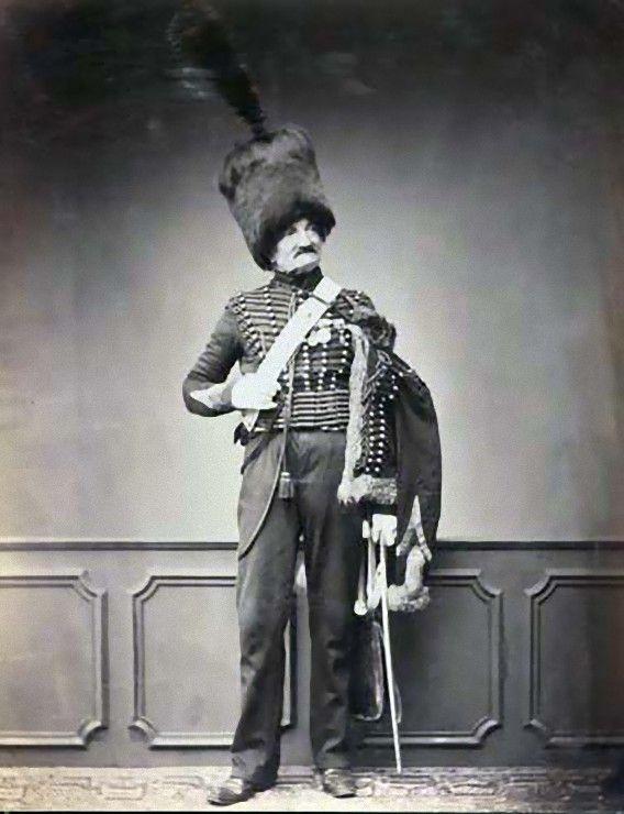 19世紀、ナポレオン戦争時代のフランス退役軍人たちのポートレート