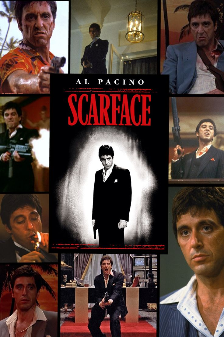 Al Pacino Quotes Wallpaper Scarface Collage 18 Scarface Movie Posters Movies