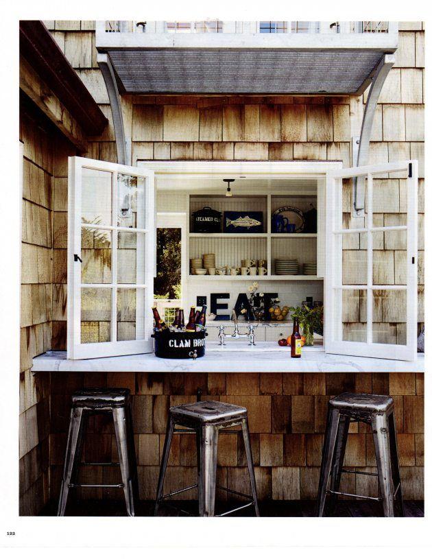 47 best cafe windows images on pinterest cafe window for Kitchen window bar ideas