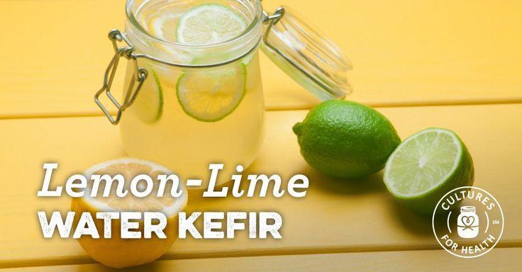 Lemon-Lime Water Kefir