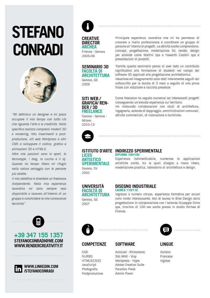 190 best Resume Design  Layouts images on Pinterest  Cv template Resume design and Creative