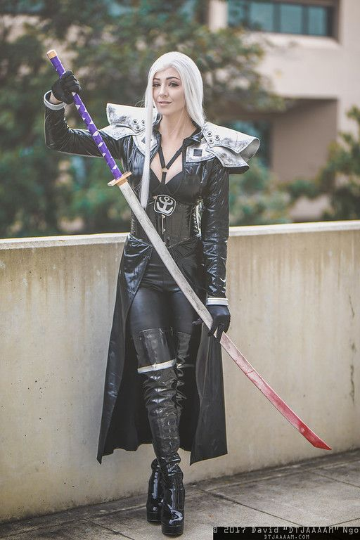 Sephiroth (Final Fantasy 7) / SacAnime 2017 / DTJAAAAM