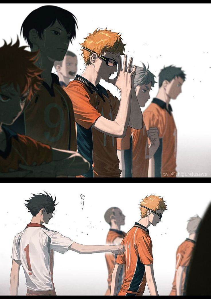 "Tsukishima pondered, 'Can they win this game?' All of a sudden, he felt a thump against his back before hearing a familiar voice. ""Best of luck, megane-kun."" Unknowingly, Tsukishima Kei smiled and suddenly, he knew that winning might not be as impossible as he initially thought. // KuroTsuki"