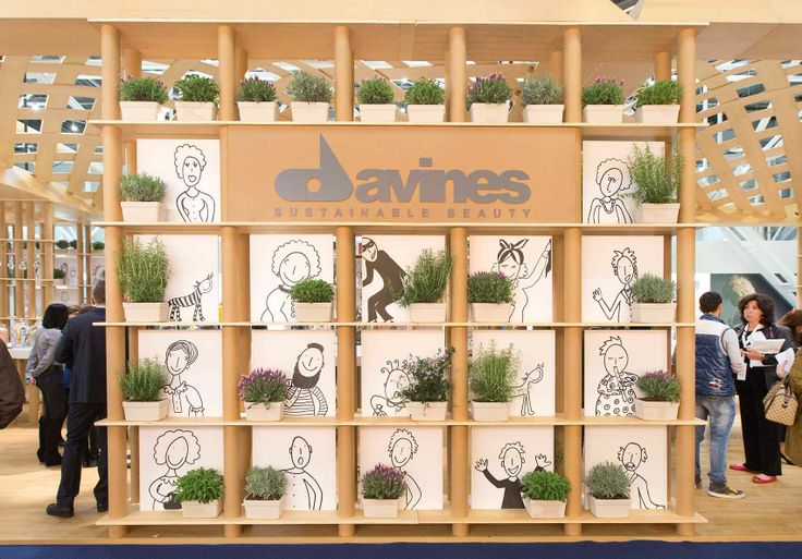 We have special Davines residents in our neighborhood, at Cosmoprof Bologna 2014!