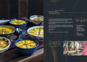 Sweet Saffron Pudding (Sholeh Zard) recipe from the Jewels of Persia Cookbook.