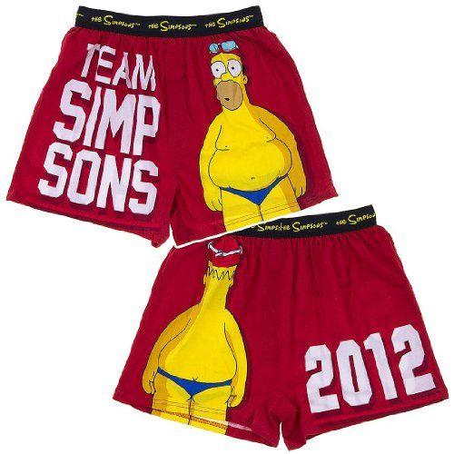 Simpsons boxers india