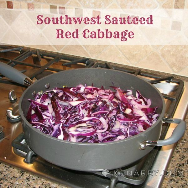 Red Cabbage Recipe: A Tasty Southwest Sautéed Side Dish | Kenarry