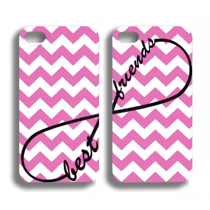 Best friends roze hoesjes voor de iPhone 4 / 4s