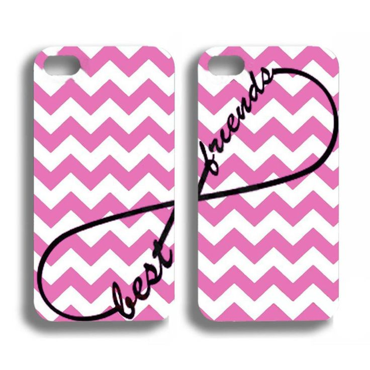 Best friends roze hoesjes voor de iPhone 4 / 4s