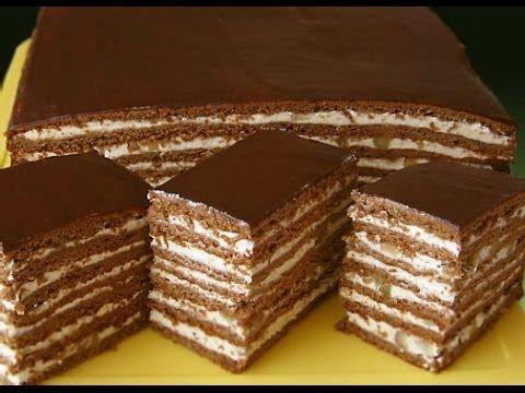 """Как приготовить торт """"Спартак""""? - YouTube"""