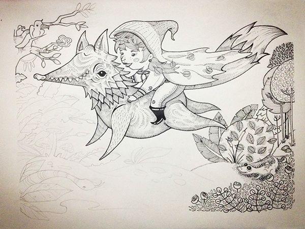 Ilustración Infantil on Behance  con: Catalina Martinez