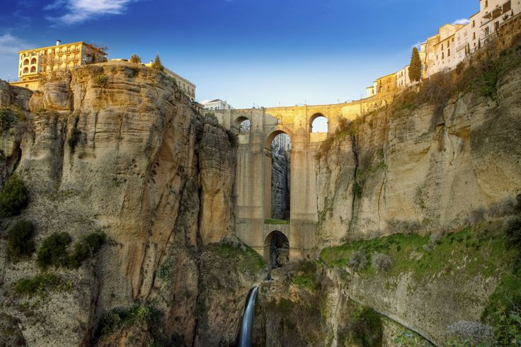Beautiful bridges around the world puente nuevo spain - El mundo andalucia malaga ...