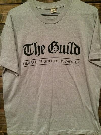 80's Rochester, NY Newspaper Guild Tee