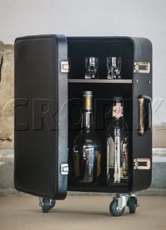 24 best Home Tv Mini Bar and Vintage Suitcase Bar images on ...