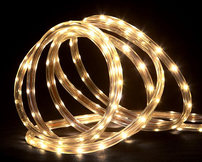 The 25 best christmas rope lights ideas on pinterest flower bed led indooroutdoor christmas rope lights on a spool aloadofball Gallery