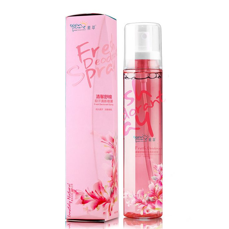 SOONPURE Cleanlily Deodorant Antiperspirant Spray Sweat Deodorant