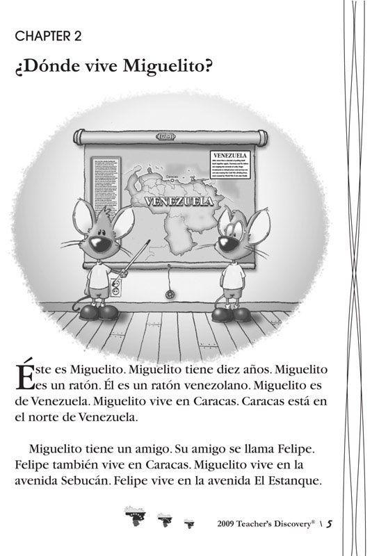 Las Aventuras De Miguelito Level 1 Spanish Reader New Years Activities Afterschool Activities First Year Student