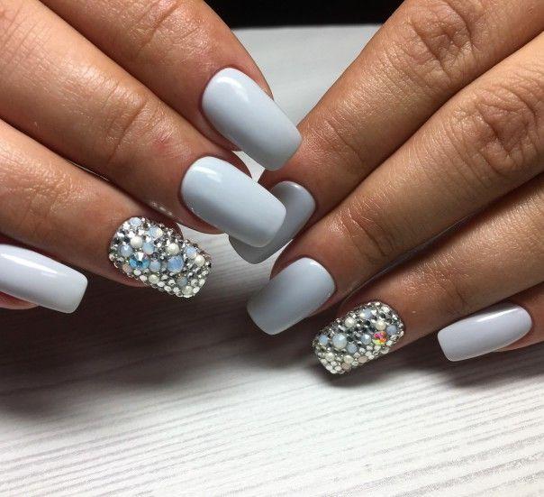 маникюр на июнь 2017, маникюр лето 2017, весенний дизайн ногтей, летний маникюр 2017, маникюр с росписью, дизайн ногтей хлопьями юки, стильный маникюр