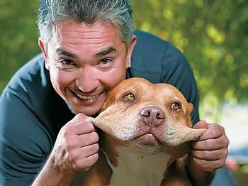 Daddy and Cesar Millan