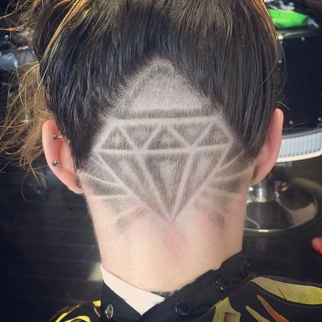 357 best hair images on pinterest hair tattoos undercut