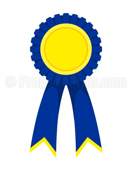 Printable award ribbon photo booth prop. Create DIY props with our free PDF template at http://propstoprint.com/download/award-ribbon-photo-booth-prop/