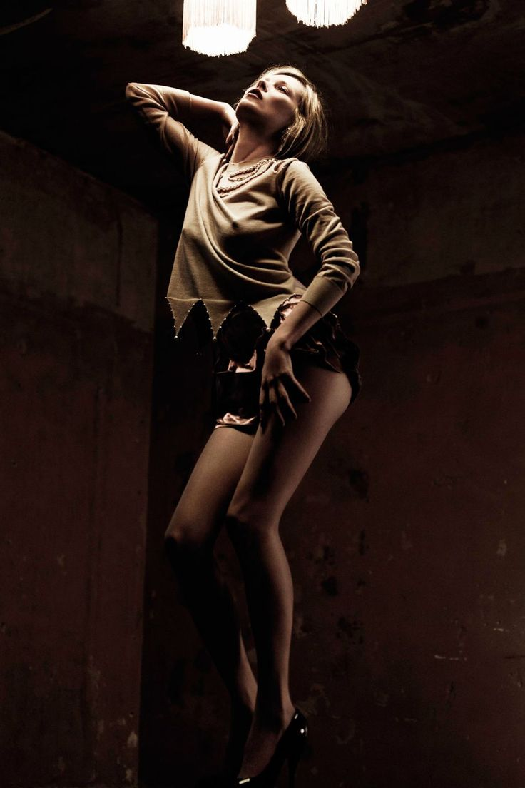 Willy Vanderperre photographed her for the [i]Basic Instinct[/i] shoot in the April 2010 issue.