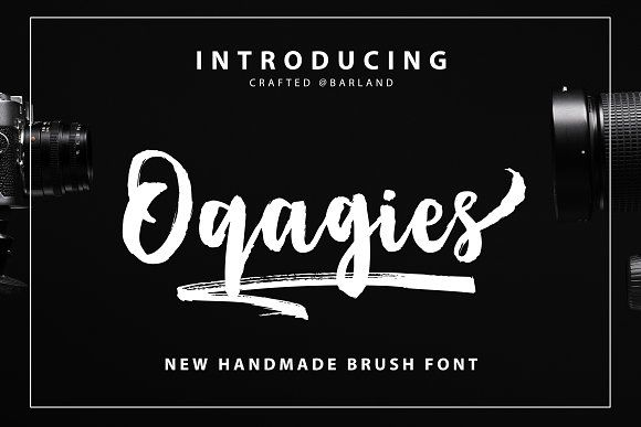 Oqagies Brush + Bonus by Barland on @creativemarket