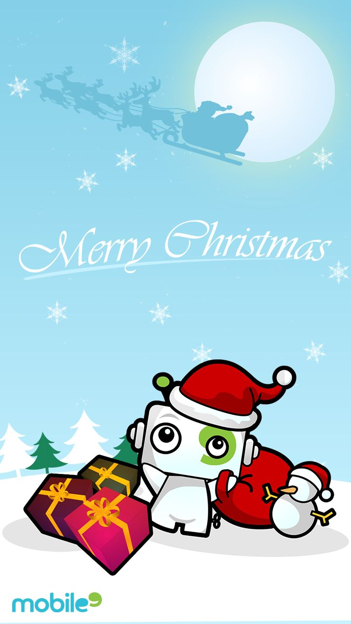 Tap image for more Christmas Wallpapers! Wishing you a Merry Christmas and Happy New Year! - mobile9