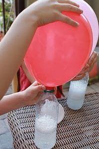 #TuFiestaTipInfantil -No hay helio a la mano y te urge inflar globos  fácil mezcla 50% vinagre y agua mineral y listo
