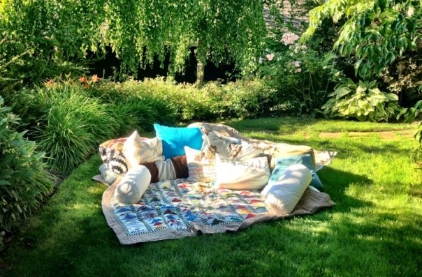 Blankets on the Grass